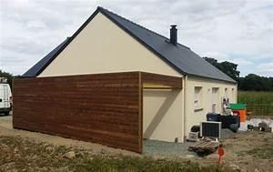 Carport bois rennes abris voiture garage pose creation for Garage en bois autoclave