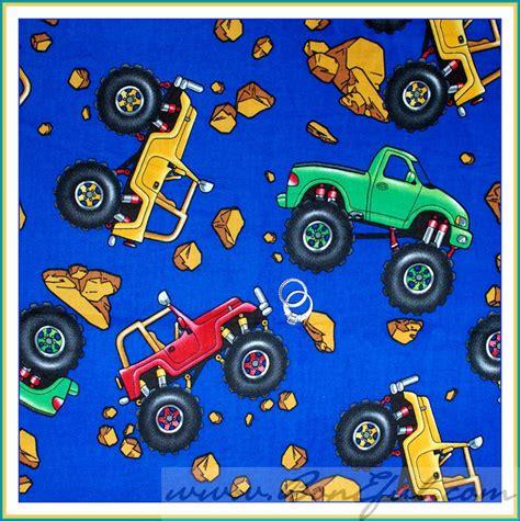 booak fabric monster truck jeep top rock blue boy big