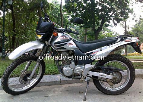 rent motocross bike honda sl 223cc rental in hanoi offroad vietnam dirt bike