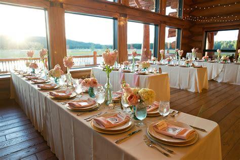 decorating rectangular tables wedding reception