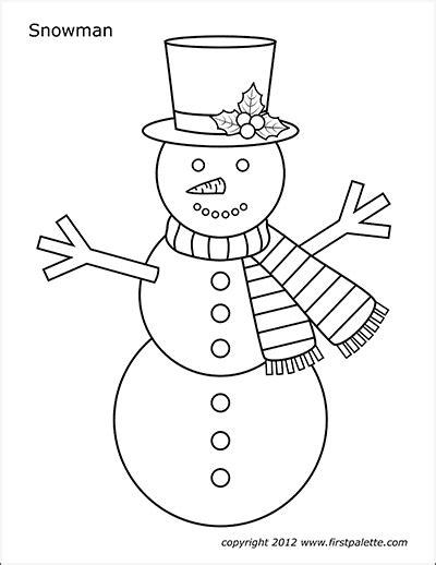 gingerbread man  printable templates coloring
