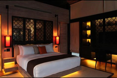relaxing asian bedroom interior designs