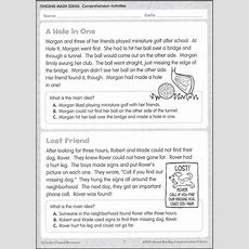 Instant Reading Comprehension Practice  Grade 2, Teacher Created Resources, 060531
