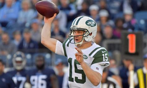 jets qb josh mccown  undecided  playing