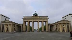 la porte de brandebourg place centrale de berlin With l encadrure de la porte