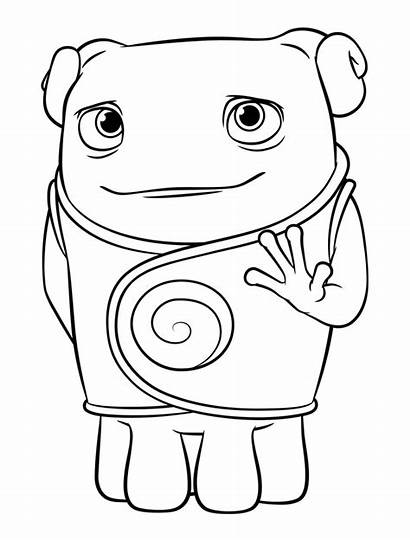 Coloring Pages Oh Dreamworks