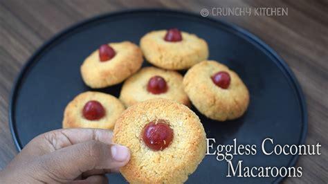 eggless coconut macaroons recipe condensed milk coconut