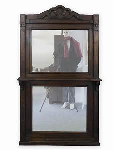 Spiegel Holzrahmen Eiche : wandspiegel spiegel antik standspiegel mit holzrahmen in eiche dunkel 3117 ~ Indierocktalk.com Haus und Dekorationen
