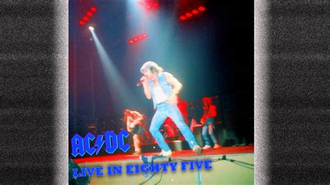 Ac Dc Sink The Pink by Ac Dc Live In Eighty Five Sink The Pink Hd Youtube