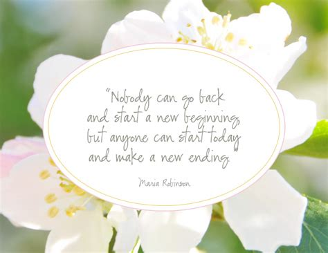 Spring New Beginnings Quotes