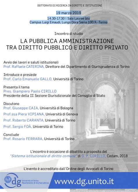 Dispense Diritto Pubblico by La Pubblica Amministrazione Tra Diritto Pubblico E Diritto