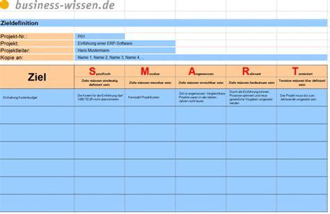 ziele smart formulieren management handbuch business