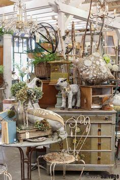 shabby chick booth displays blue  beachy