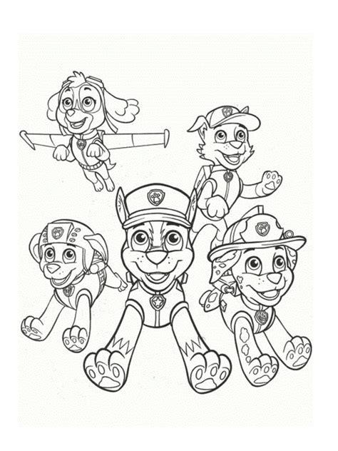 Coloriage Pour Enfants Pat'patrouille Coloring Page For