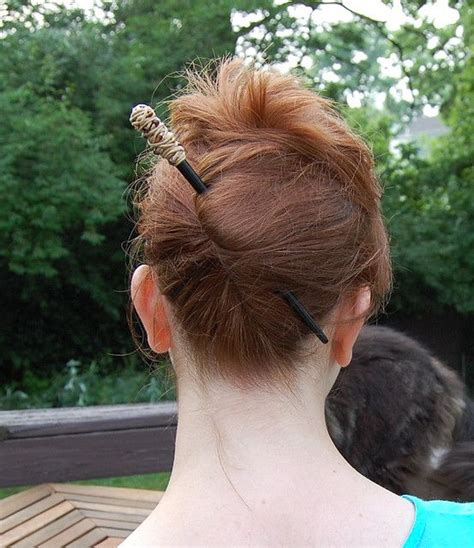 hair sticks styles how to use hair sticks hair updo lazy 3327
