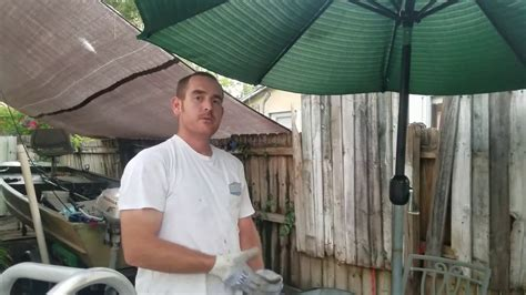 umbrella stand cheap diy youtube