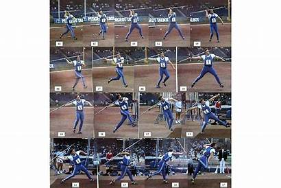 Javelin Throw Sequences Sequence Uwe Hohn