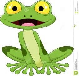 Frog Cartoon Smile