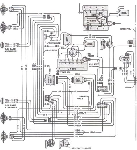 Wiring Diagram 66 Chevelle by Engine Wiring 1966 Chevelle Reference Cd