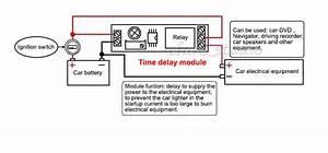 Dc5v 12v Adjustable Delay Turn Off Switch Timer Relay