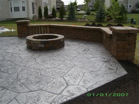 deck vs concrete patio cost deck design and ideas