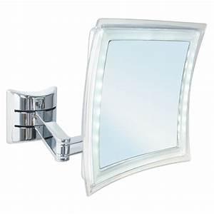 Miroir Grossissant Lumineux X10 : miroirs de salle de bains tous les fournisseurs ~ Dailycaller-alerts.com Idées de Décoration