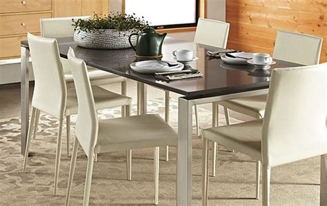 rand dining table stainless steel  rb modern