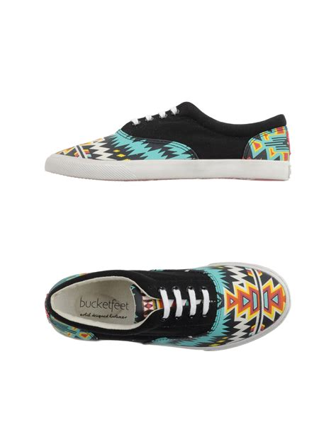 Bucketfeet Low-tops & Trainers in Black | Lyst
