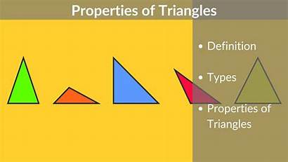 Triangles Properties Triangle Types Its