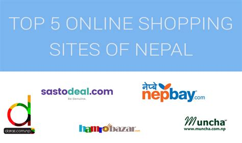 Top 5 Online Shopping Sites In Nepal  Nepalitelecom
