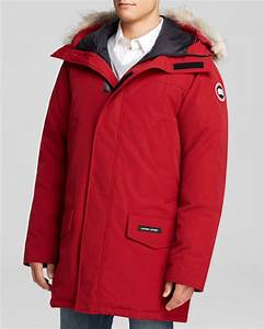 Lyst Canada Goose Langford Parka With Fur Hood In Red For Men