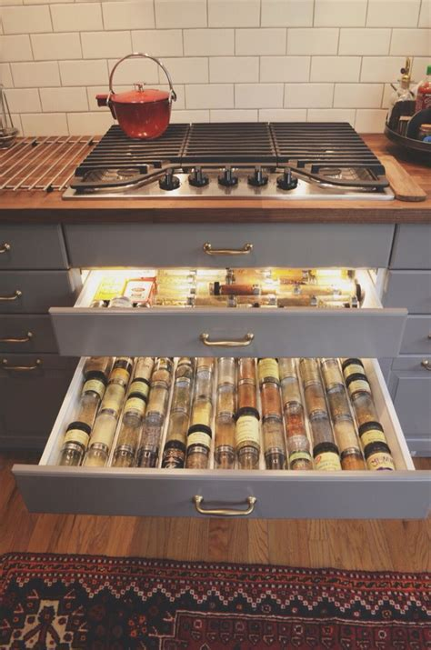 My IKEA Bodbyn grey kitchen. Karlby walnut countertops