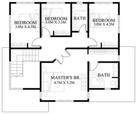 house floor plans designs modern house design series mhd 2012006 eplans