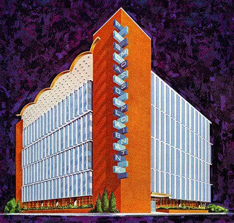 Plan59 :: Retro 1950s Architecture :: Bank Building ...