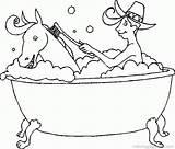 Coloring Pages Bathtime Bath Printable Popular sketch template