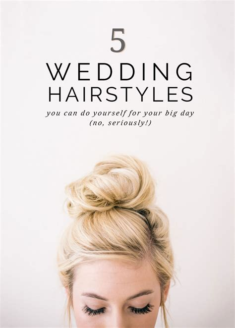 super easy wedding hairstyles     pipkin paper company
