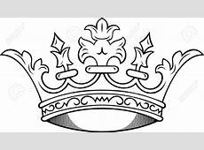 Princess Crown Henna Tattoo Art