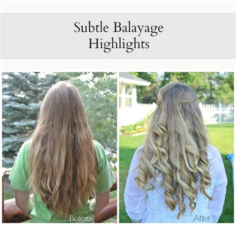 balayage highlights   stage balayage highlights