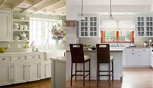 Modern kitchens 2018 cottage style kitchen ideas and features for Kitchen cabinet trends 2018 combined with incinerateur papier