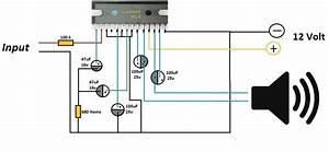 La4440 Amplifier Circuit Diagram