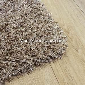 echantillon grand tapis shaggy beige sur mesure par mon With tapis shaggy sur mesure