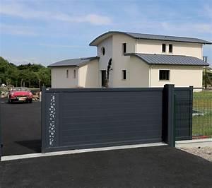 Portail Coulissant Castorama : portail coulissant aluminium design by bel 39 m avec d cors ~ Edinachiropracticcenter.com Idées de Décoration