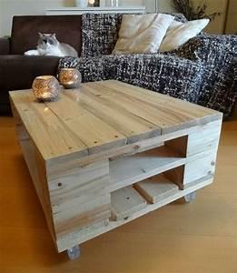 Table En Palette : plusieurs designs pour la table de salon en palette ~ Melissatoandfro.com Idées de Décoration