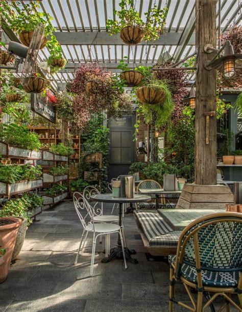 ideas  garden cafe  pinterest restaurant