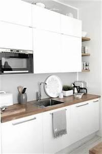 1000 idees sur le theme cuisines blanches sur pinterest With toute les couleurs de peinture 10 cuisine blanche pour ou contre cate maison
