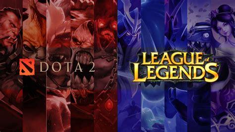 league of legends versus dota 2 crossing the line