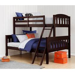 dorel airlie twin over full espresso wood bunk bed fa7499e