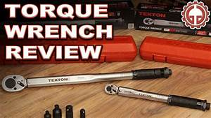 Tekton 1  2 U0026quot   U0026 1  4 U0026quot  Torque Wrench Unboxing  U0026 Review