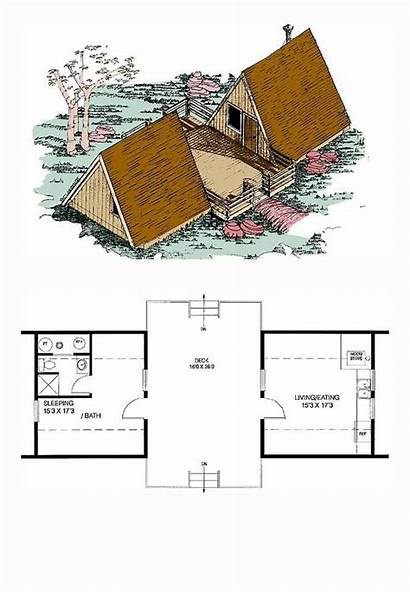 Plans Frame Cool Plan Homes Cabin Sq