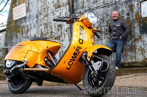 lower class vespa custom scooterlab